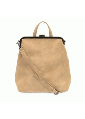Joy Susan Ivory Phyllis Nubuck Frame Convertible Backpack