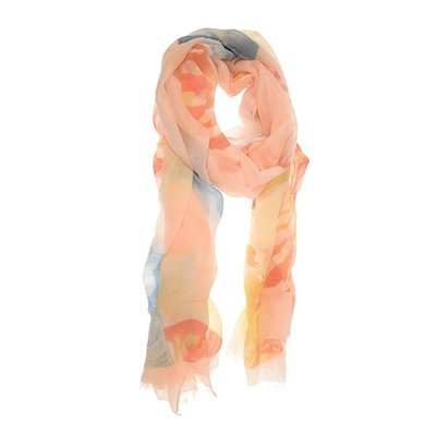Joy Susan Soft Pink Oversized Shell Scarf