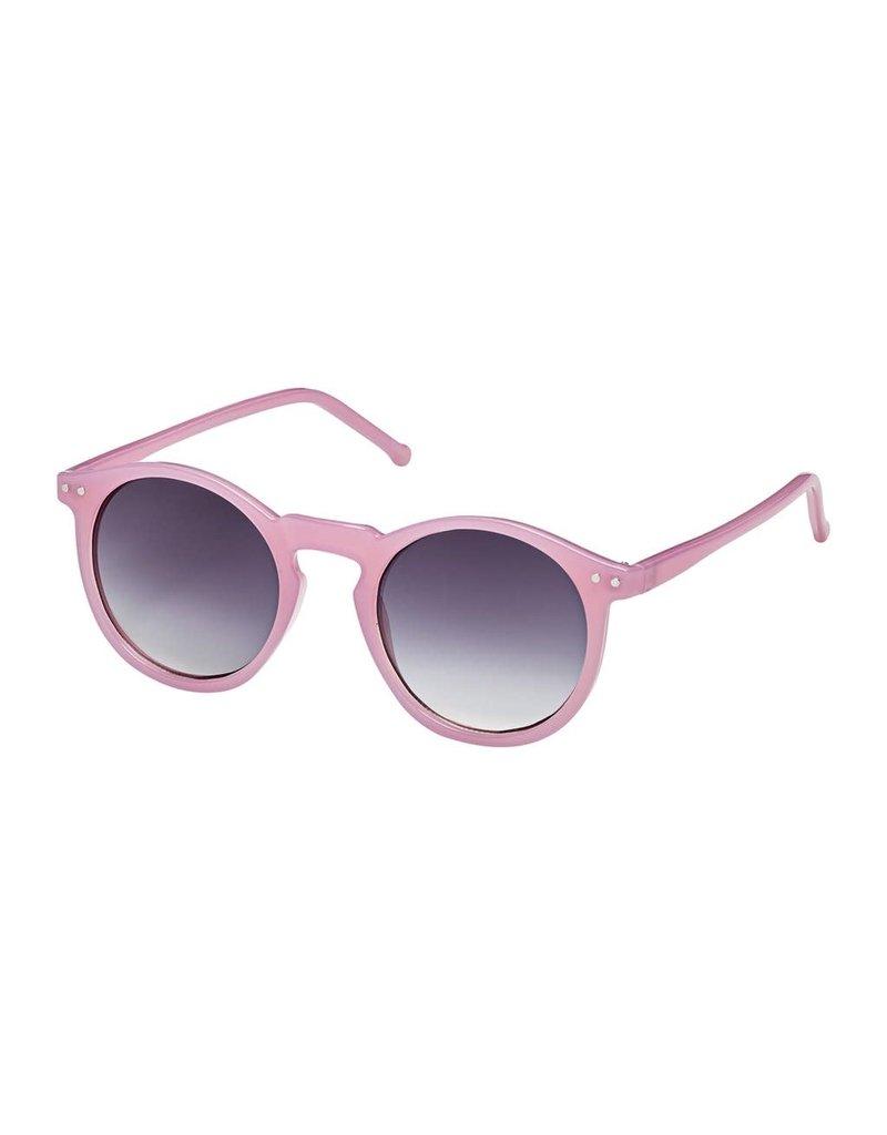 Blue Gem Jellie Roundie Pink w Gradient Smoke Lens