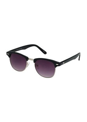 Blue Gem Classic Club Black w Gradient Smoke Lens