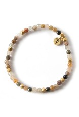 Lenny & Eva 4mm Fancy Jasper Gemstone Bracelet