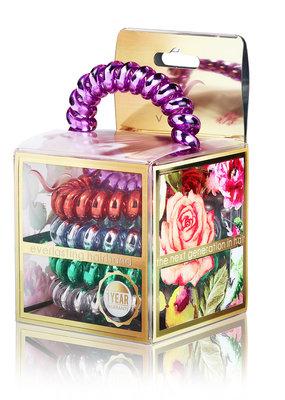 Vere Lilac Pure Metal Hair Tie & Bracelet