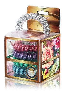 Vere Snow Glitter Blend Hair Tie & Bracelet
