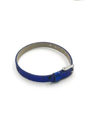 Sequined Sliding Charm Band Dark Blue