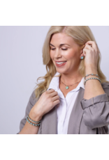 Sorrelli Cushion-Cut Solitaire Earrings in Jet
