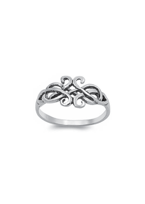 Sterling Silver Celtic Design Ring