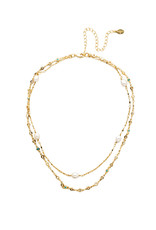 Sorrelli Ravenna Classic Necklace in Polished Pearl