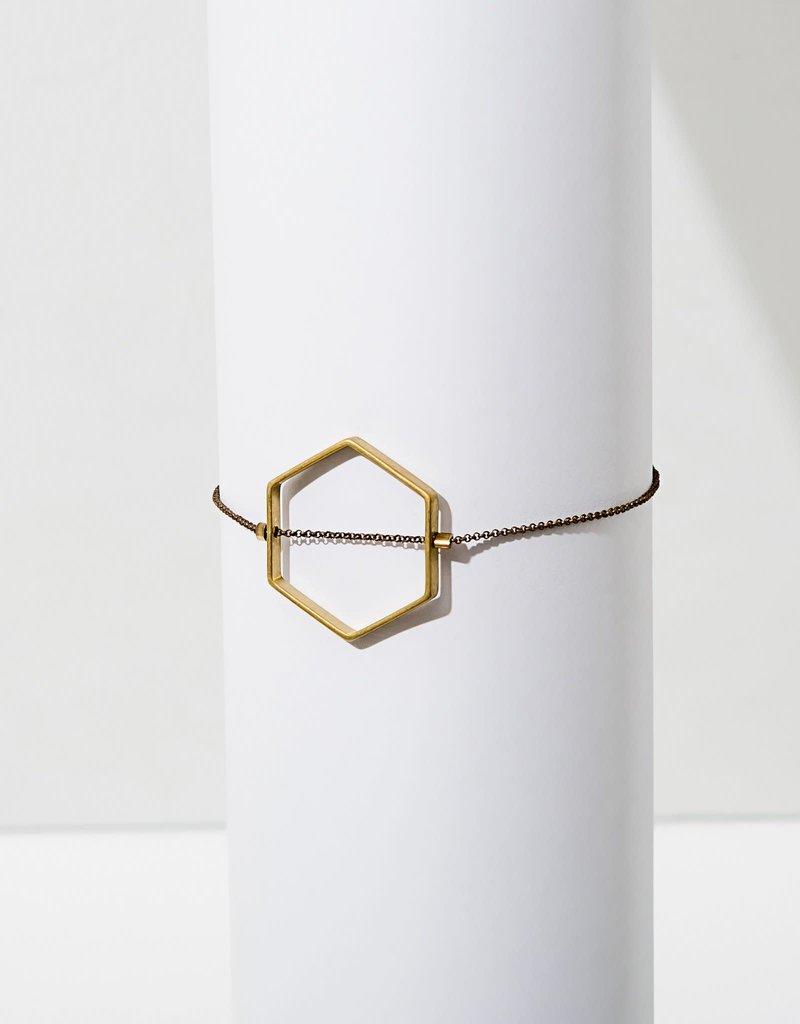 Larissa Loden Horizon Hexagon Bracelet Medium