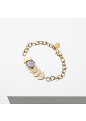 Larissa Loden Amethyst Zephyr Bracelet