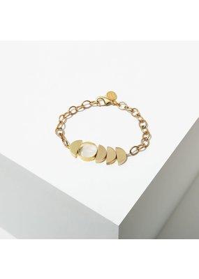 Larissa Loden Clear Quartz Zephyr Bracelet
