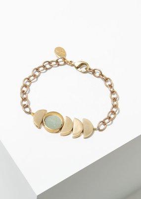 Larissa Loden Green Aventurine Zephyr Bracelet