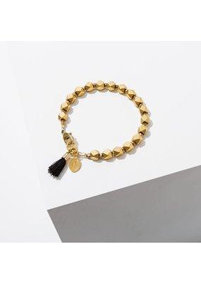 Larissa Loden Black Mosi Bracelet