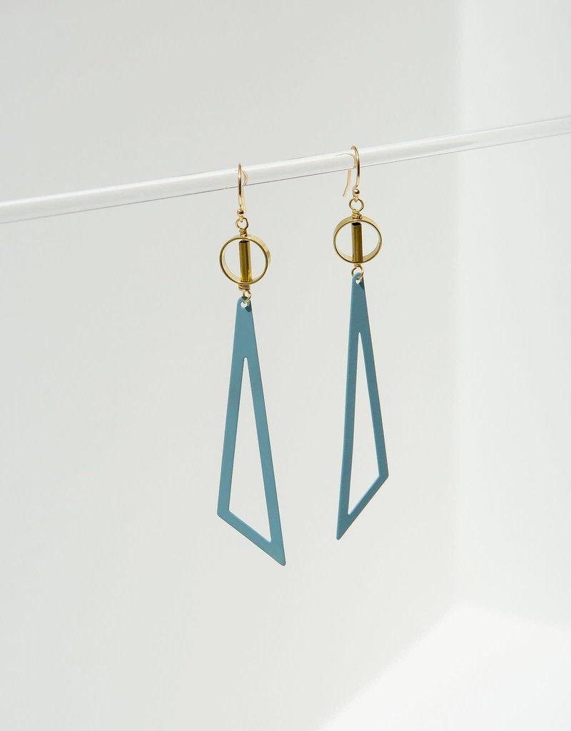 Larissa Loden Blue Tilde Earrings