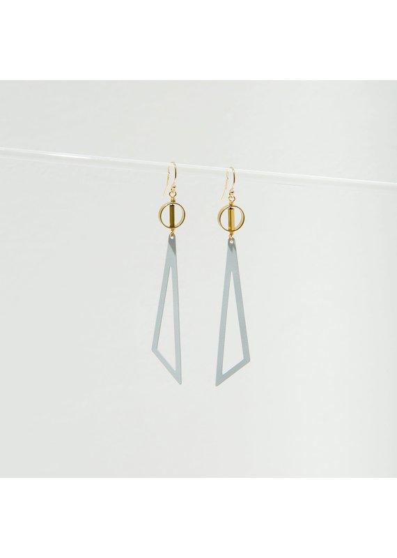 Larissa Loden Grey Tilde Earrings