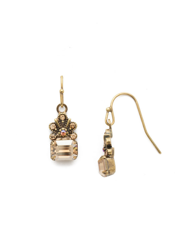 Sorrelli Crowning Glory Earring in Neutral Territory