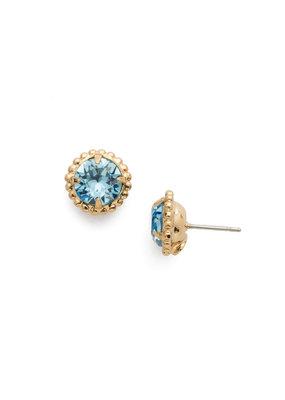 Sorrelli Simplicity Stud Earring in Aquamarine