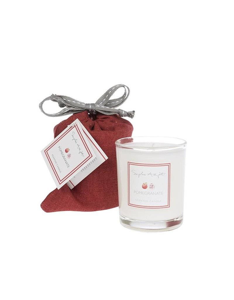 Pomegranate Scented Candle 75g