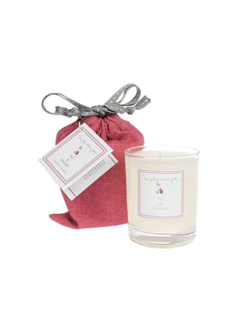 Fig & Ginger Scented Candle 75g