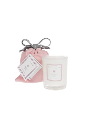 English Rose Scented Candle 75g