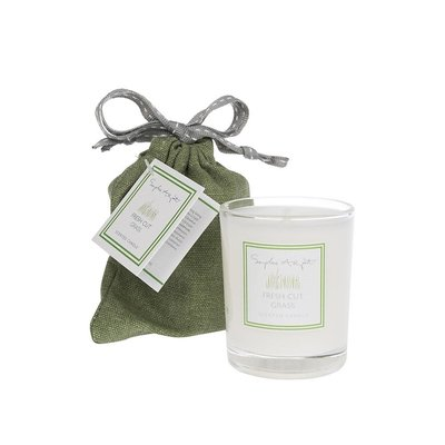 Fresh Cut Grass Scented Candle 75g
