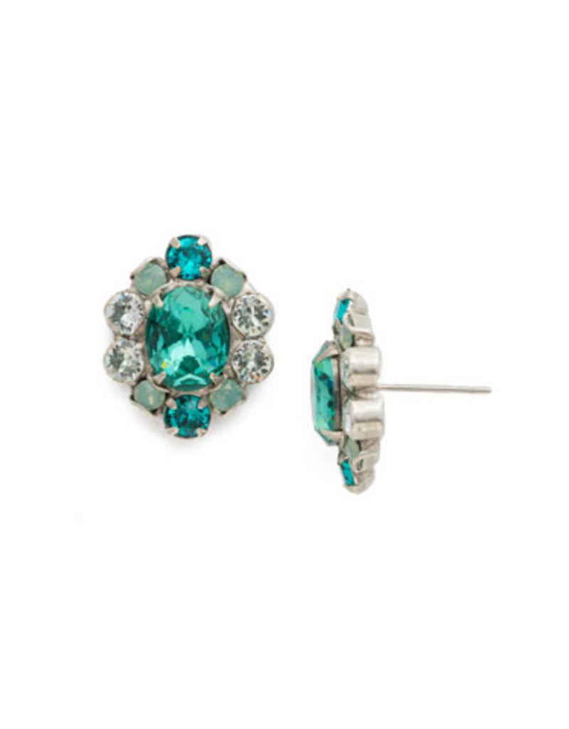 Sorrelli Sundrop Earrings in Sweet Mint
