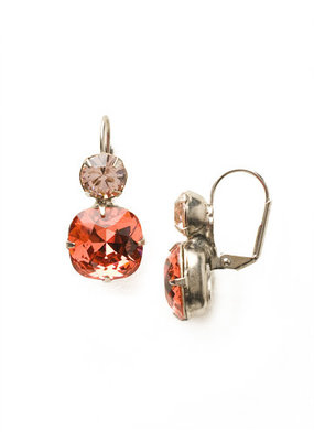 Sorrelli On the Edge Earring in Coral