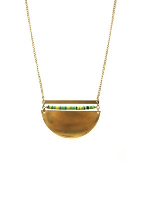Larissa Loden Brass Sails Coastal Necklace