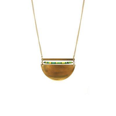 Larissa Loden Brass Sails Coastal Necklace