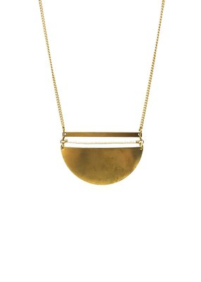 Larissa Loden Brass Sands Coastal Necklace