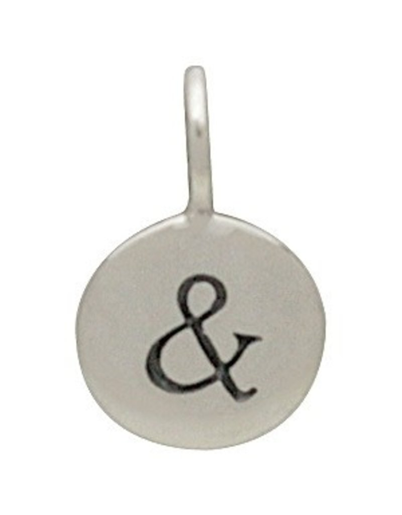 Sterling Silver Small Ampersand Charm