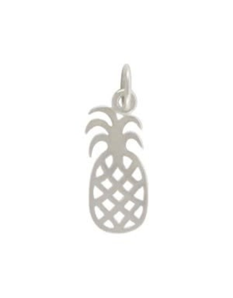 Sterling Silver Pineapple Charm