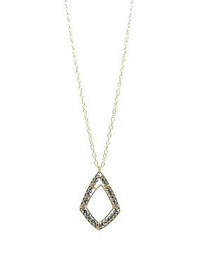 Sonya Renee Ryan Necklace Gold and Mystic Lab