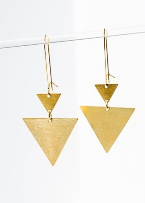 Larissa Loden Triangulation Earrings