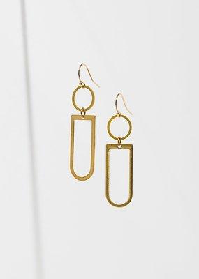 Larissa Loden Axiom Geometry Earrings