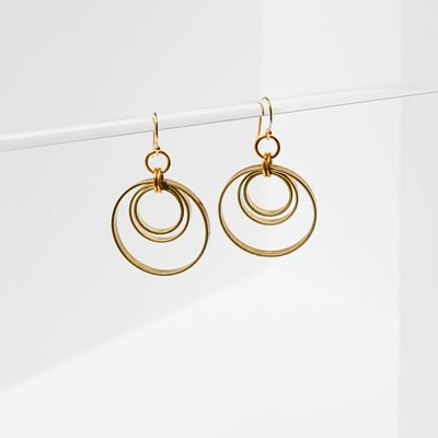 Larissa Loden Concentric Circles Earrings