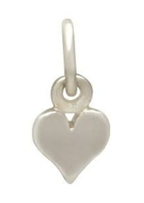 Sterling Silver Tiny Heart Charm