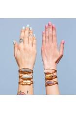 Larissa Loden Grey Quartz Crystal Cuff Bracelet