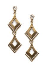 Sorrelli Love Tri-Angle Earring