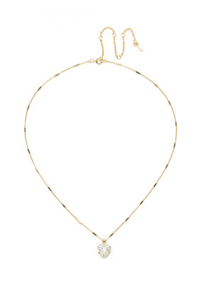 Sorrelli Perfectly Pretty Necklace in Clear Crystal