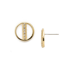 Sorrelli Middle Class Earring in Clear Crystal