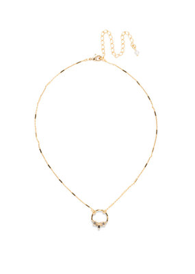 Sorrelli Crystal Haute Hammered Necklace