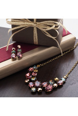 Sorrelli Forget-Me-Not Necklace in Mahogany