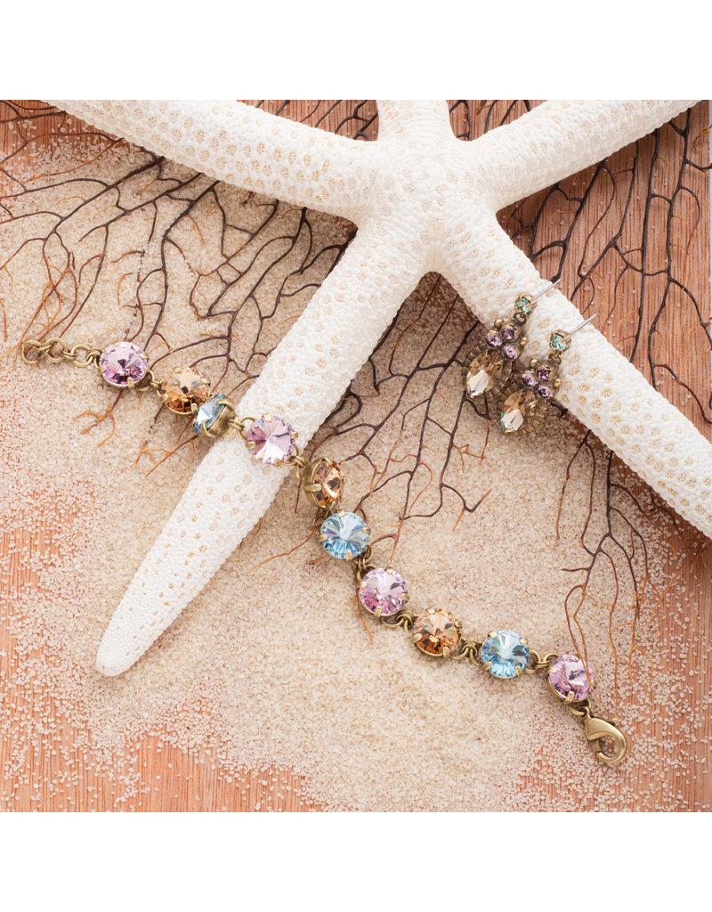 Sorrelli Noble Navette Drop Earring in Rustic Bloom