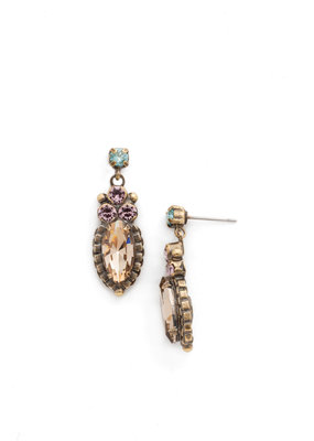 Sorrelli Noble Navette Drop Earring in Rustic Bloom