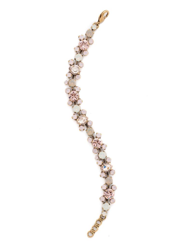 Sorrelli Perfect Harmony Bracelet in Pink Peony
