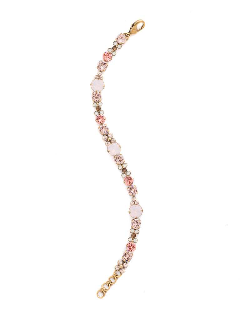 Sorrelli Well-Rounded Bracelet in Pink Peony