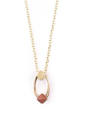 Michelle Starbuck Goldstone Duality Necklace
