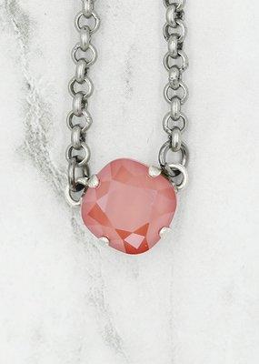 Rachel Marie Tempo Necklace Light Coral