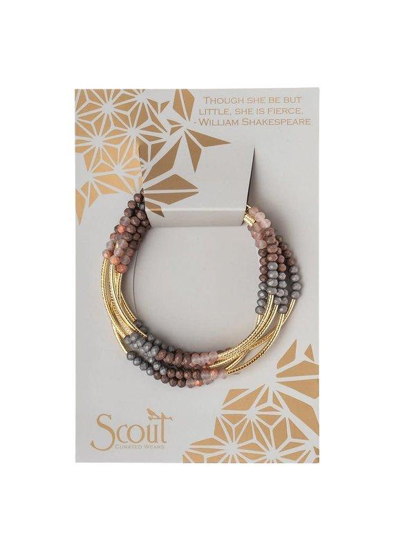 Scout Matte Metallic Tri-Tone Gold Scout Wrap