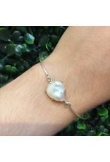 CHAN LUU Gold Copper Sheen Labradorite Bracelet